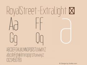 RoyalStreet-ExtraLight