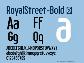 RoyalStreet-Bold