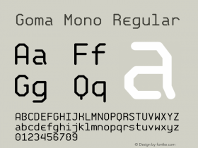 Goma Mono