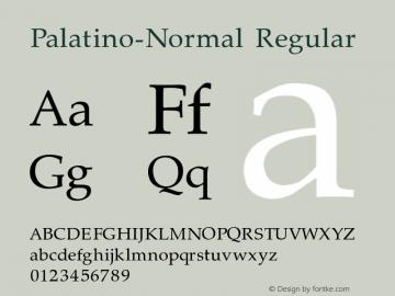 Palatino-Normal