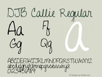 DJB Callie