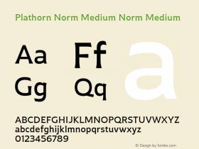 Plathorn Norm Medium