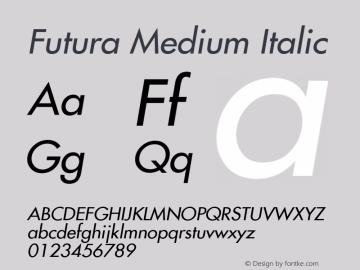 Futura Medium