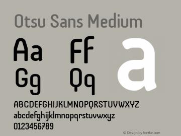 Otsu Sans