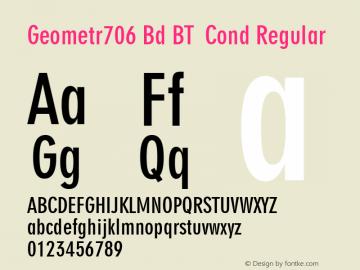 Geometr706 Bd BT Cond