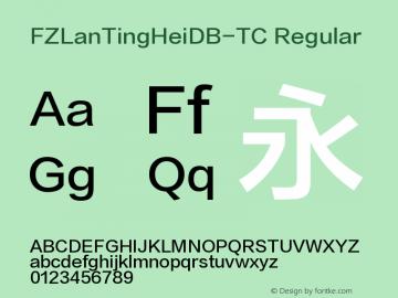 FZLanTingHeiDB-TC