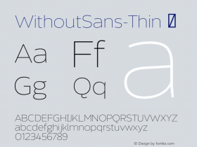 WithoutSans-Thin