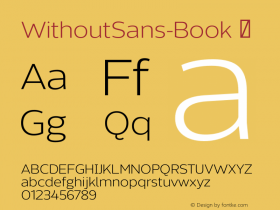 WithoutSans-Book