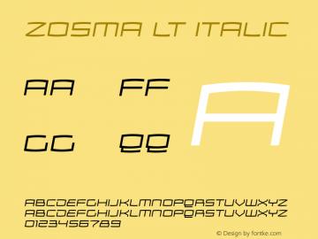 Zosma Lt