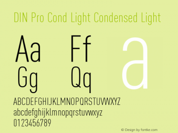 DIN Pro Cond Light