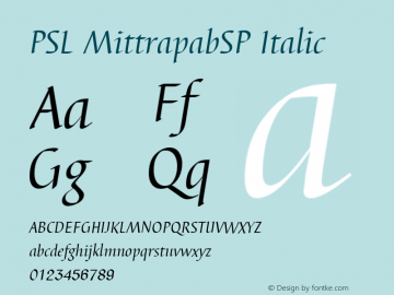 PSL MittrapabSP