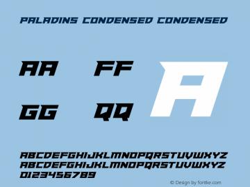 Paladins Condensed