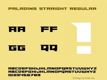 Paladins Straight