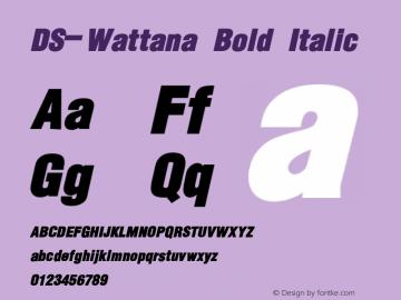 DS-Wattana
