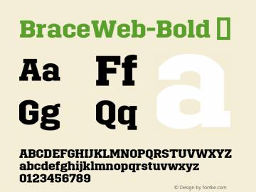 BraceWeb-Bold