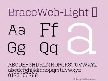 BraceWeb-Light