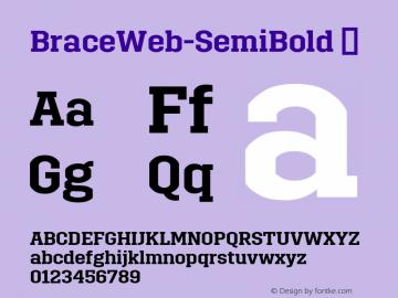 BraceWeb-SemiBold