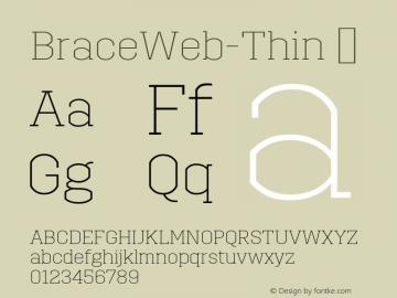 BraceWeb-Thin