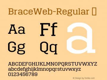 BraceWeb-Regular
