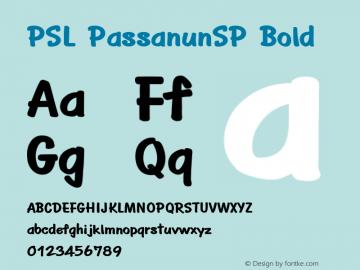 PSL PassanunSP