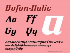 Bufon-Italic