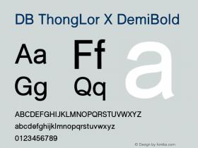 DB ThongLor X
