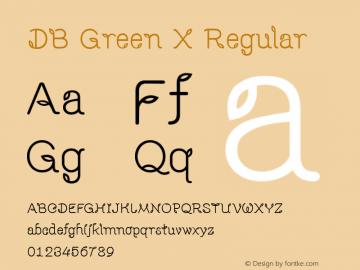 DB Green X