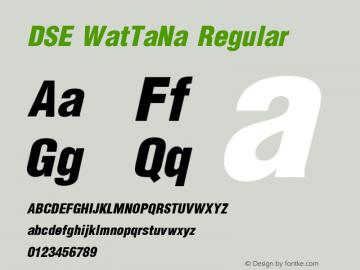 DSE WatTaNa