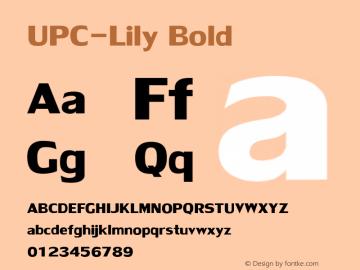 UPC-Lily