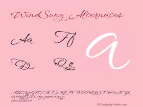 WindSong-Alternates