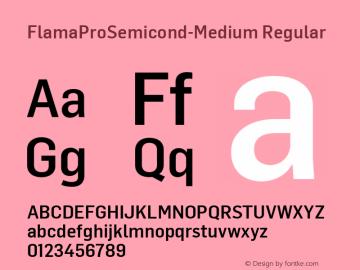 FlamaProSemicond-Medium