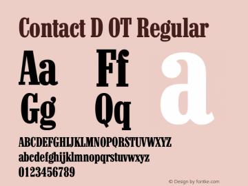 Contact D OT