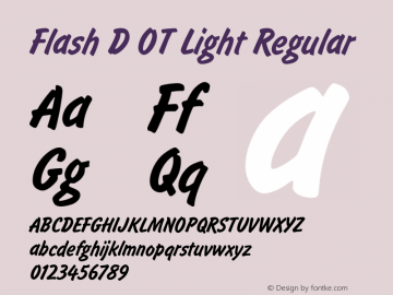 Flash D OT Light