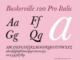 Baskerville 120 Pro