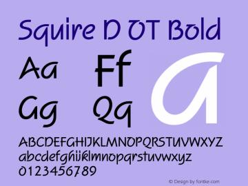 Squire D OT