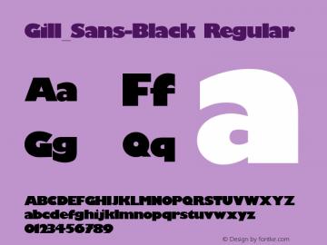 Gill_Sans-Black
