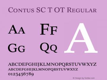Contus SC T OT
