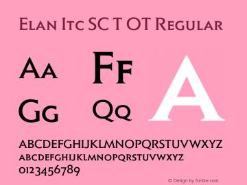 Elan Itc SC T OT