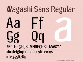 Wagashi Sans