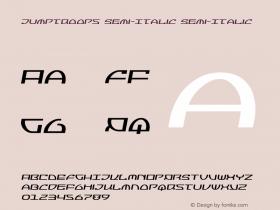 Jumptroops Semi-Italic