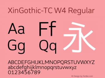 XinGothic-TC W4