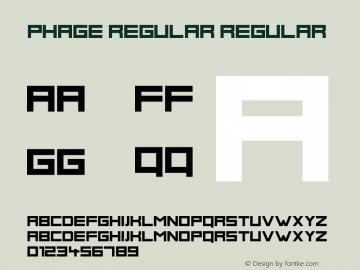 Phage Regular
