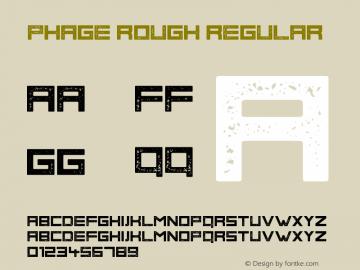 Phage Rough