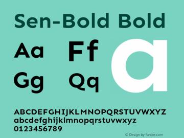 Sen-Bold