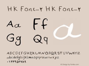 HK Font-2