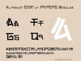 Alphabet SNK by PMPEPS