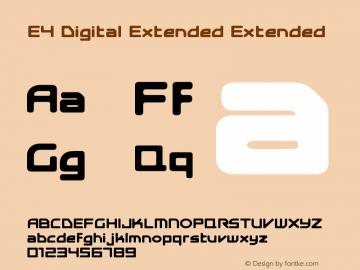E4 Digital Extended