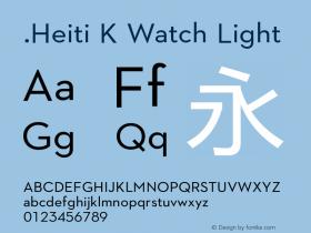 .Heiti K Watch