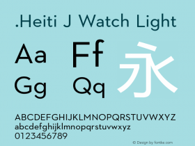 .Heiti J Watch