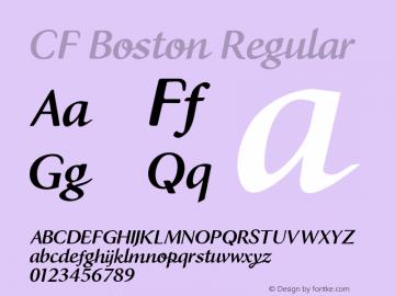 CF Boston